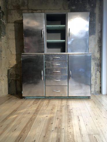Vintage Aluminium Cabinet