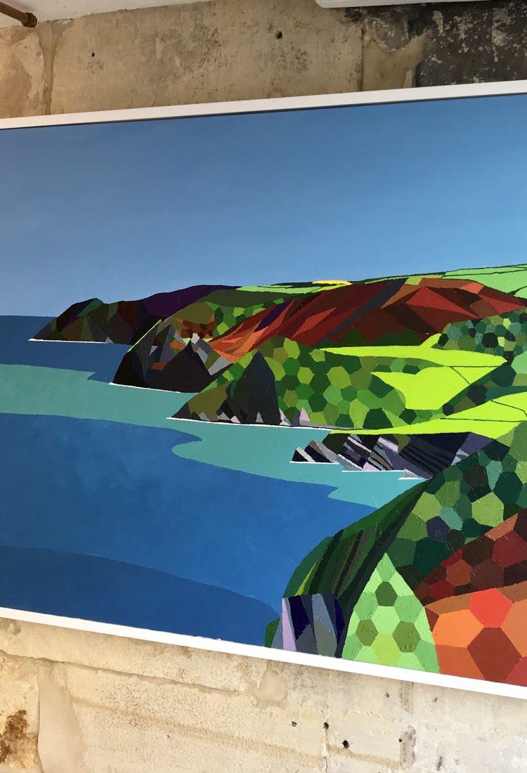 Exmoor coastline