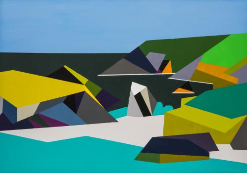 Kynance Cove Cornwall Geometric