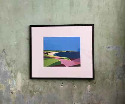 Framed Giclee on paper