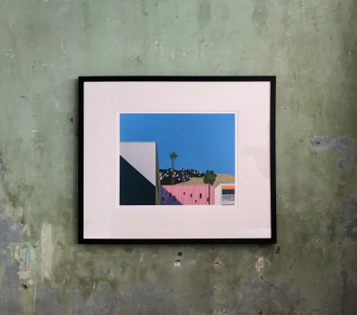 Framed Giclee print on paper